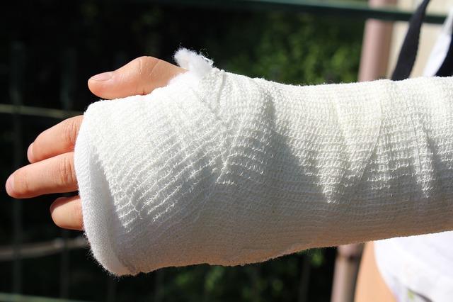 złamana ręka